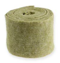 Filzband 15cm x 5m Moosgrün