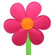 Filzblume Pink 87cm