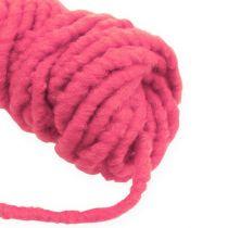 Filzkordel Flausch Mirabell 25m Pink