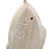 Dekohänger Holzfisch 21cm 2St