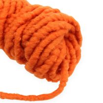 Filzkordel Flausch Mirabell 25m Orange