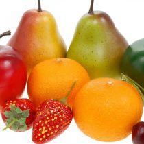 Deko-Früchte, Kunstobst-Mix L5–8,5cm