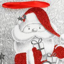 Geschenktasche Santa 24cm x18cm x 8cm