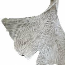 Grabschmuck Ginkgoblatt zum Hängen 10cm 3St