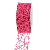 Gitterband Pink 40mm 10m