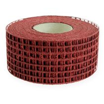 Gitterband 4,5cmx10m bordeaux