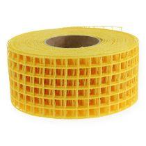 Gitterband 4,5cmx10m gelb