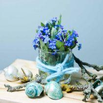 Glas-Windlicht Mustermix, Kerzendeko, Deko-Gefäß aus Glas, Tischdeko 3St im Set