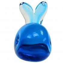 Glaswal Blau L12cm