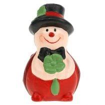 Glücksbringer Keramikkäfer 6cm rot 12St