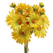 Gänseblümchen im Strauß Gelb 33cm 6St