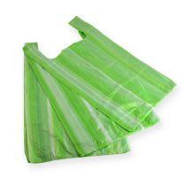 Hemdchenbeutel grün 30 + 18 x 55cm (100St.)