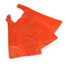 Hemdchenbeutel orange 30 + 18 x 55cm (100St.)