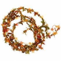 Herbstgirlande Orange 3m