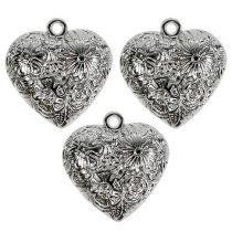 Herzen zum Hängen Silber 3cm 36St