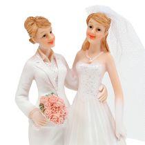 Hochzeitsfigur Frauenpaar 17cm