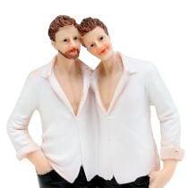 Hochzeitsfigur Männerpaar 19cm