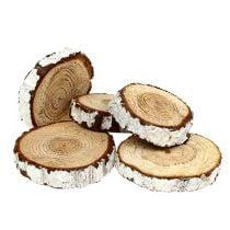 Holzscheiben Tannen Optik 3-7,5cm 500g