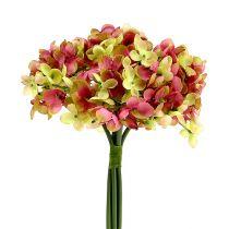 Hortensienbund L27cm grün,rosa