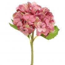 Künstliche Hortensie Dunkelrosa 36cm