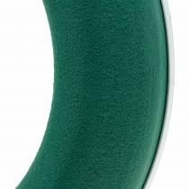 OASIS® Steckschaum Kranz Ring Grün H3cm Ø25cm 6St