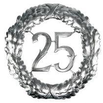 Jubilaumszahl 25 In Silber O40cm Preiswert Online Kaufen