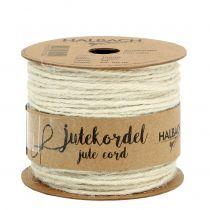 Jute Kordel Weiß Ø2mm 100g
