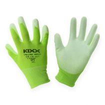 Kixx Gartenhandschuhe Hellgrün, Limette Gr.10