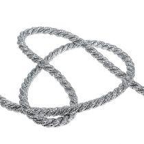 Kordel Silber 10mm 10m