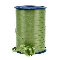 Kräuselband Olivgrün 4,8mm 500m