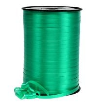 Kräuselband Dekoband Grün 5mm 500m