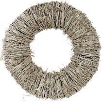 Kranz aus Waldrebe Weiß gewaschen Ø40cm