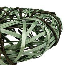 Kranz mit Weide und Rinde groß Grün Ø45cm