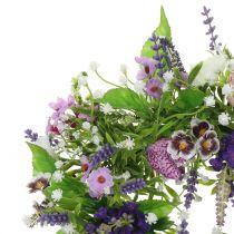Kranz Schachbrettblume/Lavendel/Flieder Ø28cm