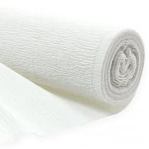 Floristen-Krepppapier Weiß 50x250cm