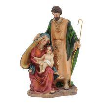 Krippenfiguren Maria, Josef, Jesus 14,5cm
