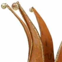 Krone Edelrost Gold Ø6,5/8,5cm 2St im Set