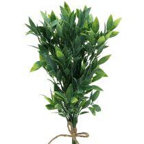 Lorbeer im Bund künstlich Grün 40cm 7St