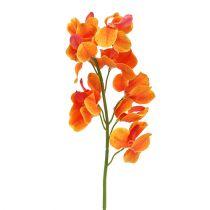 Künstliche Orchidee Mokara Orange 50cm 6St