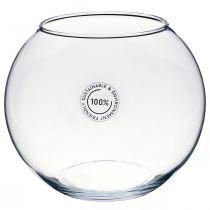 Kugelvase, Goldfischglas, Glaswindlicht, Deko-Glas Ø18,5cm H16cm