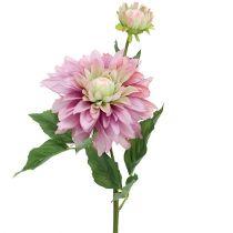 Kunstblume Dahlie Lila 63cm
