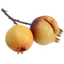 Kunstobst Granatapfel mit Kernen Ø7-9cm L20cm