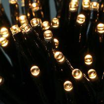 LED Reislichterkette 180er 13,5m schwarz/Warmweiß