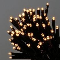 LED Reislichterkette 240er 18m schwarz/Warmweiß