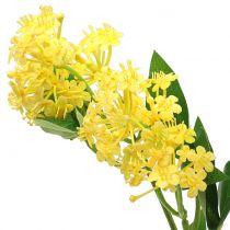 Wandelröschen Lantana Zweig künstlich Gelb 80cm