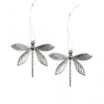 Libellen zum Hängen Silber 6,5cm 36St