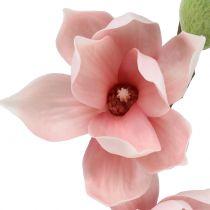 Magnolie künstlich Hellrosa 70cm
