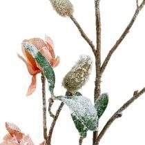 Magnolienzweig Hellrosa L 82cm