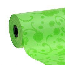 Manschettenpapier Grün mit Muster 25cm 100m