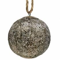 Metallkugel Antik zum Hängen Ø13,5cm